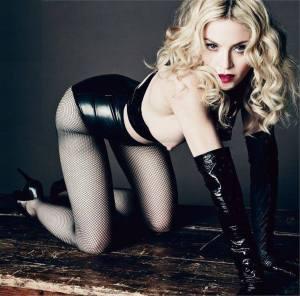 Vogue Madonna Topless